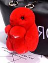 Väska / telefon / nyckelring charm kanin tecknad leksak rex kanin päls 14cm