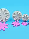 1 set Plastics Everyday Use Cake Molds Bakeware tools