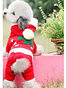 Dog Clothes/Jumpsuit Dog Clothes Christmas Christmas Red
