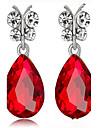 May Polly European classic drop diamond all-match Fashion Earrings