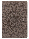 Case for ipad Pro 10.5 9.7 Cover Card Holder Wallet with Stand Flip Embossed Full Body Case Mandala Hard PU Leather for ipad 2017 5 6 mini 1.2.3.4