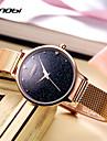 Жен. Модные часы Наручные часы Китайский Кварцевый Ударопрочный Металл Группа На каждый день Cool минималист Золотистый