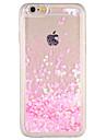 Capinha Para Apple iPhone 7 Plus iPhone 7 Liquido Flutuante Capa traseira Glitter Brilhante Rigida PC para iPhone 7 Plus iPhone 7 iPhone