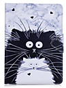 Case For Apple Wallet / Card Holder / with Stand Full Body Cases Cat / Animal Hard PU Leather for iPad Air / iPad 4/3/2 / iPad Mini 3/2/1 / iPad Pro 10.5 / iPad (2017)