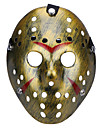 Halloween Porous Jason Killer Mask Old Faded Vintage Silver Horror Hockey Cosplay Carnaval Masquerade Party Costume Prop