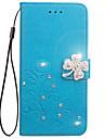 Чехол для huawei p8 lite p8 lite 2017 чехол карта держатель кошелек горный хрусталь с подставкой флип тиснение полный корпус корпус цветок