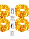 20m Fili luminosi 200 LED Bianco caldo / Bianco / Multicolore Impermeabile / Telecomando / Oscurabile <5 V / IP65 / Colore variabile