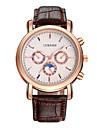 Муж. Уникальный творческий часы Повседневные часы Нарядные часы Модные часы Наручные часы Китайский Кварцевый Крупный циферблат Кожа