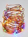 10W String Lights 100 <5V 10m 100 leds Warm White White RGB Red Yellow Blue Green