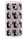 Case For Samsung Galaxy J3 J3 (2016) Case Cover Cat Pattern Painted High Penetration TPU Material IMD Process Soft Case Phone Case J5 (2016)
