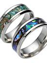 남성용 여성용 밴드 반지 패션 티타늄 스틸 보석류 보석류 제품 일상