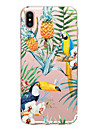Coque Pour Apple iPhone X iPhone 8 Transparente Motif Coque Fleur Fruit Animal Flexible TPU pour iPhone X iPhone 8 Plus iPhone 8 iPhone 7