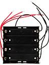 caixa de protecao do suporte de bateria diy 4 ranhuras de alto desempenho para 18650