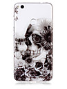 Case For Huawei P8 Lite (2017) P10 Lite Phone Case TPU Material Skull Pattern HD Phone Case P9 Lite