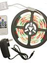 SENCART 300 LEDs RGB Controlo Remoto Cortavel Regulavel Cores Variaveis Auto-Adesivo Conetavel AC100-240 AC 100-240V