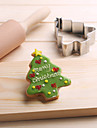 Christmas Tree Cookies Cutter Stainless Steel Biscuit Cake Mold Baking Tools