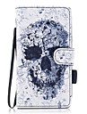 Case For Samsung Galaxy J7 (2017) J3 (2017) Wallet Card Holder with Stand Flip Magnetic Pattern Full Body Skull Hard PU Leather for J5