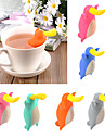 ornithorynque forme infuser theiere silicone the passoire sac cafe the outil couleur aleatoire
