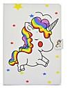 Назначение iPad (2017) Чехлы панели Бумажник для карт со стендом Флип С узором Магнитный Чехол Кейс для единорогом Твердый Искусственная