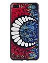 Pour iPhone 7 iPhone 7 Plus Etuis coque Motif Coque Arriere Coque Formes Geometriques Flexible PUT pour Apple iPhone 7 Plus iPhone 7