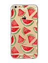 Para iPhone X iPhone 8 Case Tampa Transparente Estampada Capa Traseira Capinha Fruta Macia PUT para Apple iPhone X iPhone 8 Plus iPhone 8