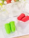 5 Pairs Travel Soft Ear Plugs Plastic Box Pack