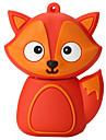 bande dessinee silicone fox haute vitesse antichoc 256gb usb 2.0 lecteur flash u disque de memoire de disque