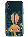 Coque Pour Apple iPhone X iPhone 8 Motif Coque Bande dessinee Animal Flexible Silicone pour iPhone X iPhone 8 Plus iPhone 8 iPhone 7 Plus
