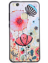 For Case Cover Pattern Back Cover Case Flower Soft Silicone for Huawei Huawei P10 Lite Huawei P10 Huawei P9 Lite Huawei P8 Lite