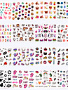 Sticker Nail Stamping Template Daily Fashion High Quality