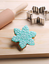 снежинки печенье резак из нержавеющей стали бисквит торт плесень помадные инструменты для выпечки