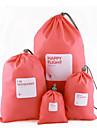 Plastic Novelty Multi-functional Home Organization, Four-piece Suit Storage Bags