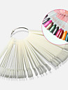 50stk Nail Art Tool Til Fingernegl Multi-Design Negle kunst Manicure Pedicure Normal / Simple / Klassisk Daglig