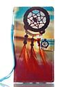 Кейс для Назначение Sony Бумажник для карт Кошелек со стендом Флип Магнитный С узором Чехол Ловец снов Твердый Кожа PU для Sony Xperia L1