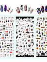 Fashion Water Transfer Decals Nail Art Design Daily