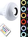 1 шт. 7W E27 Умная LED лампа PAR30 26 светодиоды SMD 5050 Bluetooth Диммируемая На пульте управления Декоративная RGB + белый 500lm