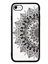 Capinha Para Apple iPhone 7 iPhone 7 Plus Antichoque Estampada Capa Traseira Lace Impressao Rigida PC para iPhone 7 Plus iPhone 7 iPhone
