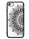 Coque Pour Apple iPhone 7 iPhone 7 Plus Antichoc Motif Coque Arriere Impression de dentelle Dur Polycarbonate pour iPhone 7 Plus iPhone 7