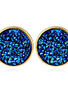 Women\'s Stud Earrings Hoop Earrings Geometric Fashion Resin Alloy Jewelry For Casual Street