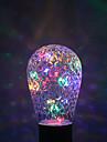 YWXLIGHT® 1шт 1W 100-200lm E27 Круглые LED лампы 16 Светодиодные бусины Тёплый белый Зеленый Синий Красный 85-265V