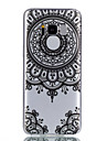 For Case Cover Transparent Pattern Back Cover Case Mandala Soft TPU for Samsung Galaxy S8 Plus S8 S7 edge S7 S6