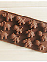 Inovador Chocolate silica Gel Moldes de bolos