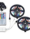 10m Light Sets 600 LEDs 1 12V 6A Adapter 1 44Keys Remote Controller RGB Cuttable Waterproof Self-adhesive Linkable Decorative 12V 1set