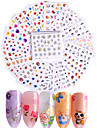 50 pcs Fashion Decals / Set / 3D Nail Stickers Daily