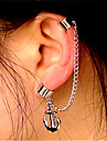 Women\'s Clip Earrings Ear Cuffs Vintage Casual Statement Jewelry Fashion Cool Alloy Geometric Line Anchor Jewelry Bar Club Costume Jewelry