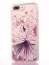 케이스 제품 Apple iPhone 7 Plus 플로잉 리퀴드 패턴 뒷면 커버 섹시 레이디 글리터 샤인 하드 PC 용 iPhone 7 Plus iPhone 7 iPhone 6s Plus iPhone 6s iPhone 6 Plus iPhone 6