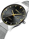 Men\'s Casual Watch Fashion Watch Quartz Calendar Alloy Band Casual Minimalist Cool Silver