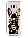 Capinha Para Samsung Galaxy S8 Plus S8 Transparente Estampada Capa Traseira Cachorro Macia TPU para S8 S8 Plus S7 edge S7 S6 edge S6