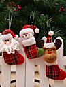 3pcs Noel Decorations de Noel, Decorations de vacances 20*9