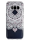 Case For Samsung Galaxy S8 Plus S8 Transparent Pattern Back Cover Lace Printing Soft TPU for S8 Plus S8